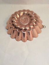 Super Vintage Copper Tin Lined Jelly Mould