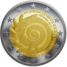 Griekenland  2011  2 euro commemo   Special Olympics      UNC uit de rol !!!