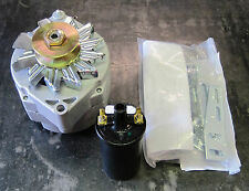 Willys Jeep / 12 Volt, 65 Amp, 1-Wire Delco Alternator Conversion Kit