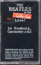 Live at Star Club1962,Vol.1 - Beatles(The) (Cassette)BRAND NEW FACTORY SEALED