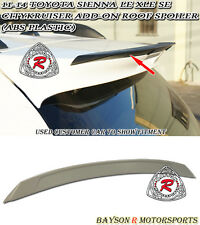 11-17 Toyota Sienna CityKruiser Add-on Roof Spoiler Wing (ABS)
