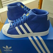 ADIDAS PRO MODEL ANIMAL (S75067) Blue/White/Gold  MENS US SZ 10