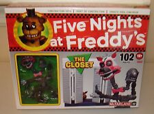 Five Nights at Freddy's Construction Set The CLOSET MANGLE  McFarlane 102 piece