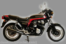 HONDA CB900FC RESTORATION DECAL SET BLACK MODEL