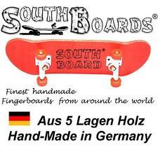 Komplett Board RT/WS/RT - SOUTHBOARDS® Handmade Wood Fingerboard Deck, Holz