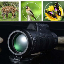 40x60 HD Day & Night Vision Optical Monocular Camping Hunting Hiking Telescope