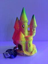 Classico castello fluorescente - 17.5cm - ACQUARIO ORNAMENTO-DECORAZIONE-BRILLANTE