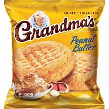 Grandma's Homestyle Cookies, Peanut Butter, 2.5 oz, 33 ct X 2 = 66 cookies