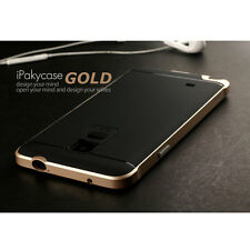 Hybrid Rugged Bumper Slim Protective Case For Samsung Galaxy NOTE 4 N9100 - Gold