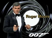 1/6 James Bond Clothing & Roger Moore Head Sculpt Pierce Brosnan Timothy Dalton