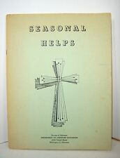 CHRISTIAN XMAS EASTER ADVENT SEASONAL HELPS PAPERBACK 1960s DIOCESE OF DELAWARE
