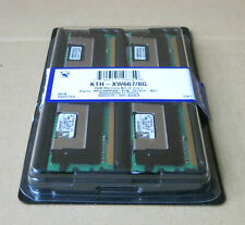 2 x Kingston KTH-XW667/2G Dual Specific Memory 1GB 2Rx8 PC2-5300F DDR2 System