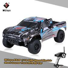 Original WLtoys K939 2.4GHz 4WD 1/10 Brushed Short Course Truck RC Car C3H0
