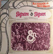"""OST - SOUNDTRACK - SIGNORE & SIGNORI - CARLO RUSTICHELLI 12""""  LP (L743)"""