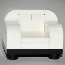 LEGO Furniture: White Chair - Custom LEGO Home Design [minifigure,house,parts]