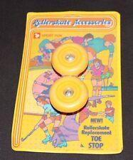 Vintage Rollersake Accessories Replacement Toe Stop 1980 Sport Fun roller skate