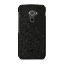 TETDED Premium Leather Case for BlackBerry DTEK60 -- Caen (LC: Black)