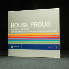 House Proud - Vol.1 - Harry Choo Choo Romero & Jose Nunez - Music CD Album X 2
