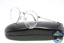 Ray-Ban RX Eyeglasses RB 3532V 2501 Folding Silver Round Frame [50-20-140]