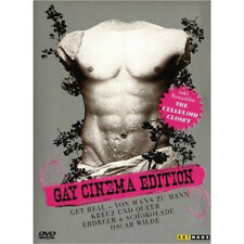 Gay Cinema Edizione (4 Film + Doku: Ottieni Real, Croce & Queer Box Set DVD