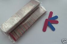 Mini emery boards/nail files,  FOR 100,  gr8 4 the handbag. FREE P&P UK SELLER