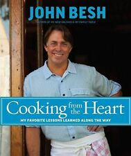 COOKING FROM THE HEART Lessons Along Way John Besh Cookbook New Orleans recipes