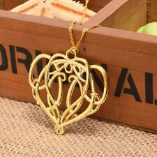 Lord of the Rings The Hobbit Elrond's Necklace Pendant Elf King Chain Alloy Gift