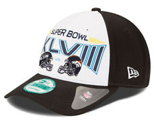 NFL SUPER BOWL XLVIII 48 2013 SEAHAWKS NEW ERA 940 DUELING HELMETS CAP HAT NEW!