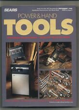 Sears Power and Hand Tools Catalog Featuring Craftsman September 1, 1991