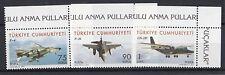 TURCHIA-TURKEY 2010 aerei militari 3564-66  MNH