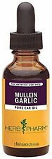 Bestselling Herbal Ear Drop Oil - Mullein/Garlic, 1.0 oz. By Herb Pharm