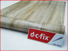 DC FIX Wood Grain Self Adhesive  Sticky Back Plastic Vinyl 67.5cm x 2m 200-8433