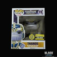 NEW RARE Funko Pop Guardians of the Galaxy Thanos Glow Entertainment Earth