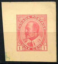 Canada 1903-12, 1c KEVII Stationery Cut-Out #D45221