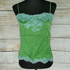 Green Lace THEORY Sexy Tank Top Size Small