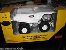 CAT 797F OFF HIGHWAY TRUCK TRUCK 1.50  CATERPILLAR SPECIAL WHITE EDITION LTD ED