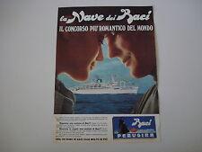 advertising Pubblicità 1969 BACI PERUGINA