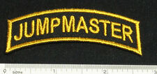 Set of 2 JUMPMASTER Patches for Skydiving Parachute Shirt Cap Rig Gear 25Q