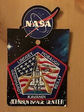NASA STS-104 Mission Patch in Original Packaging