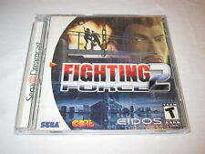 Fighting Force 2 (Sega Dreamcast) Game Complete LN Perfect Condition Mint!