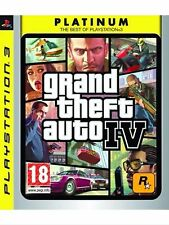 Grand Theft Auto IV Ps3 Perfetta Stampa Italiana Con Manuale & Mappa (No import)