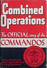 OFFICIAL STORY of COMMANDOS, 1943 BOOK (BRITTANIC MAJESTY'S ST OFF) COMBINED OPS