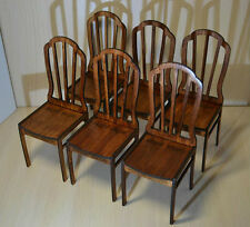 Set: 6 chairs for dolls1/6 dollhouse furniture for dolls FR, Barbie