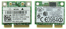 Dell Wireless Wifi Wlan Tarjeta dw1510 Bcm94322hm8l bcm4322 Mini Pci-e B/g/n G30