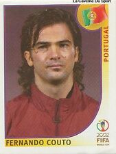 N°300 FERNANDO COUTO # PORTUGAL PANINI WORLD CUP JAPAN 2002 STICKER