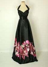 JOVANI 14455 Black/Pink Prom Pageant Evening Party Gown 12 NWT $500 Formal Dress