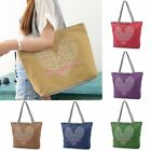 Love Heart New Women Canvas Lady Shoulder Bag Handbag Tote Shopping Summer Beach