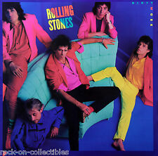 Rolling Stones 1986 Dirty Work Cover Original Promo Poster