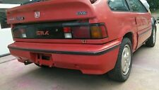 Rear Bumper Cover - 86-87 Honda CRX Si - OEM stock equipment, not aftermarket