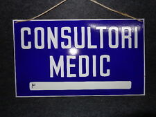 SIGN ANTIQUE MEDICAL OFFICE